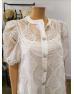 Jewel Button Dress