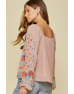 Embroidery Blouse Rose