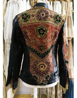 Leather Jewel Jacket
