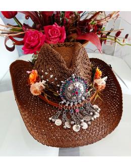 Boho Tribal Hat